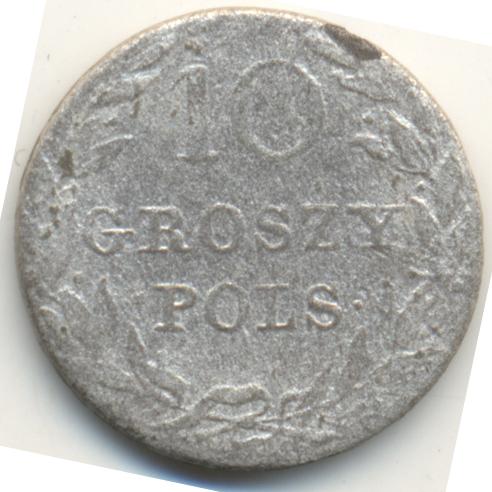 10 грошей 1816 г. IB. Для Польши (Александр I).